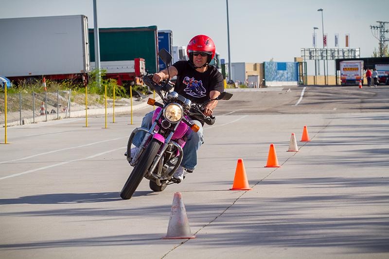 permiso de conducir motos